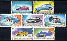 Mongolia 1989 CARS/Mercedes/Volvo/Honda/Ford 7v n11594