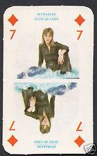 Monty Gum Card - 1970's Hitmakers Music Card - Suzie Quatro