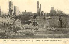 CPA 14-18 MAURUPT-LE-MONTOIS ruines