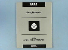 Body Diag. Proced., Airbag/Gauges/Comm., 1999 Jeep Wrangler (TJ), 81-699-98068
