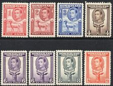 1938 Somaliland Protectorate Sg 93/100 Short Set of 7 Values Mounted Mint