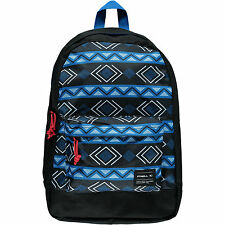 O'NEILL MENS/BOYS COASTLINE BLACK BLUE BACKPACK RUCKSACK SCHOOL BAG 20L 6W 12 99