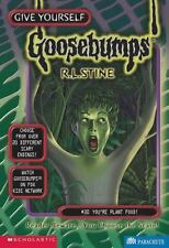 You're Plant Food! (Give Yourself Goosebumps, No. 30)-ExLibrary