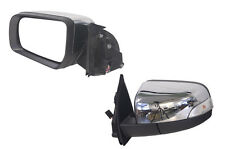 FORD RANGER PX 9/2011-ON LEFT HAND SIDE ELECTRIC DOOR MIRROR CHROME AUTO FOLD