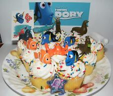 Disney Finding Dory Cake Toppers Set of 14 with Figures, Ring, Tattoo  and More!