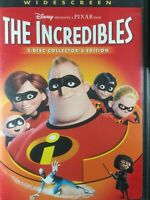 The Incredibles (DVD, 2005, 2-Disc Set, Collectors Edition, Widescreen)