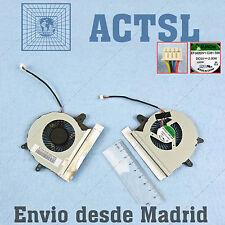Ventilador para Asus X501U-XX034V 4pin 5V