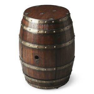 Butler Calumet Rustic Barrel Table, Mountain Lodge - 2520120