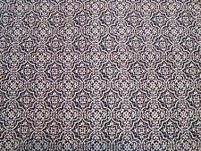 """Red White and Blue Ornate Pattern Cotton Quilting Fabric 1yrd, 23"""" x 35""""w"""