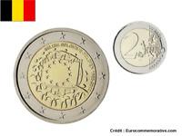 2 Euros Commémorative BELGIQUE Drapeau / Flag 2015 UNC