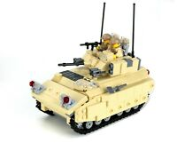 Bradley Fighting Vehicle complete custom set made with REAL LEGO® bricks