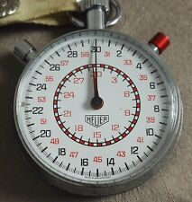 Heuer original stopwatch split seconds nice condition