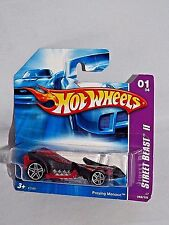 Hot Wheels 2007 Street Beast II Series #065 Preying Mantis Red & Black w/ PR5s