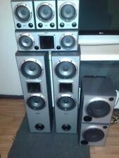 Sony 6.2 Speakers Set inc 3 x Magnetically Shielded Font Speakers +2 x 8inch sub