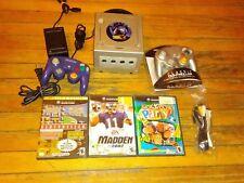 Nintendo GameCube Pokemon XD Limited Edition Bundle Platinum Console (NTSC) RaRe