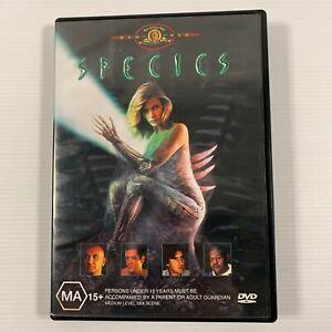 Species (DVD 2000) Natasha Henstridge Ben Kinglsey Forest Whitaker Region 4