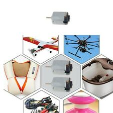 Mini 130 Motor Small Electric Motor Dc6v 04a 18000rpm For Diy Airplaneboatcar