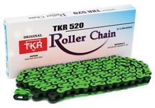 YAMAHA YZ250 YZ450 HEAVY DUTY CHAIN 520H-120 LINKS MONSTER YAMAHA FLOURO GREEN