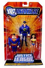 DC Universe Justice League Unlimited_SUPERMAN_BLACKHAWK_WONDER WOMAN figures_MIP