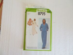 Simplicity Sewing Pattern 8793 Size 12