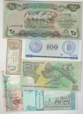 More details for eleven different world banknotes in lightly used to mint condition