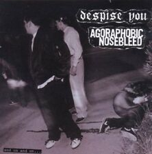 AGORAPHOBIC NOSEBLEED/DESPISE YOU - AND ON AND ON  CD NEW+