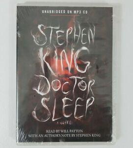 Doctor Sleep A Novel Stephen King CD MP3 Audio Sealed NEW Horror Mystery