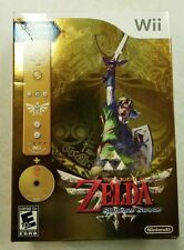 Legend of Zelda Skyward Sword Limited Edition Gold Bundle | Wii [NEW SEALED]