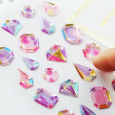 3D Crystal Diamond Decorative Stationery Craft Stickers Scrapbooking DIY Sticker