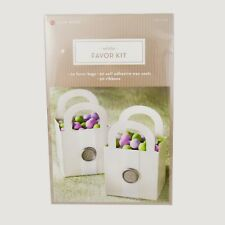 Club Wedd Favor kit Bags, Seals, and ribbons.  Wedding favor kit.