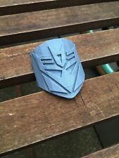 Transformers Decepticon Head Tube Headbadge Bmx Mtb Road Dh Stocking Xmas