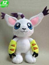 "Tailmon Gatomon 12"" 30 cm Digimon Adventure Soft Plush Toy Doll"