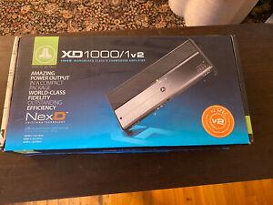 JL AUDIO XD1000/1v2 1000 WATT MONOBLOCK CLASS-D SUBWOOFER AMPLIFIER CAR AUDIO