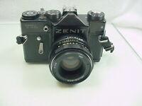 Zenit TTL Soviet 35mm Film SLR Camera w/ 58mm f:2 Helios lens w/ case   $68.95  