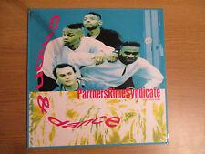 """Partners Rime Syndicate – C'Mon & Dance VINYL 12"""" 1990 House Hip Hop EPIC6562966"""