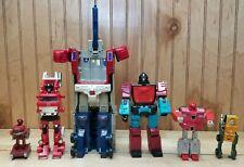 Vintage Transformers parts or repair lot of 6