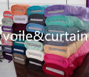 """voile fabric whole Roll 26 colors 150cm (60"""") wide super quality wedding drapes"""