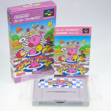 KIRBY BOWL Star Nintendo SFC Super Famicom Japan Import SNES NTSC-J Complete