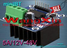 miniIBTDC Motor Drive Module H-bridge PWM(0~100%) Control 12V-48V /5A NMOS