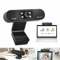 HD 2MP Webcam 1080P Web Camera with Microphone PC Laptop for Skype/Zoom