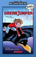 GRAPHIX SPOTLIGHT DREAM JUMPER 1 FCBD FREE COMIC BOOK DAY 2016 GIVEAWAY PROMO