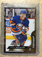 16-17 UD Upper Deck Compendium Series 3 #897 ANTHONY BEAUVILLIER RC Rookie Gold