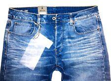G-STAR RAW JEANS 3301 SLIM W31/L32 ITANO STRETCH DENIM NEU Herrenjeans blau