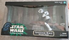 Star Wars POTF The Power of the Force Speeder Bike with Scout Trooper 12""