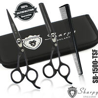 "Professional Hairdressing Scissors Barber Salon Shears SET 6.5"" With Free Comb"