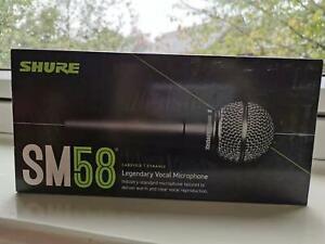 Shure SM58 Legendary Vocal Microphone,Black