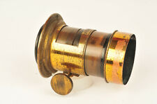 Optimus Brass Lens with Rack & Pinion Focus and Provision for Waterhouse Stops