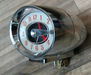 1960 Buick Cats Eye Clock. Excellent condition!