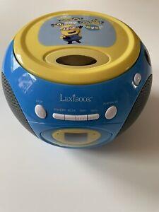 "Lexibook Kinder Radio + CD Player Minions ""Top Zustand"""