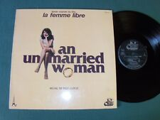 AN UNMARRIED WOMAN (B.O film La femme libre) / BILL CONTI LP French AZ STEC 279